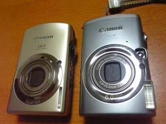 920ISと800ISを並べた写真