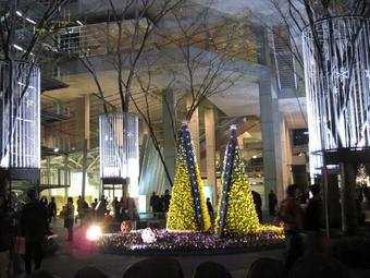 写真:東京国際フォーラムのイルミネーション4(クリックで拡大)