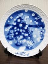 写真:DAVIDAのクリスマスプレート(クリックで拡大)